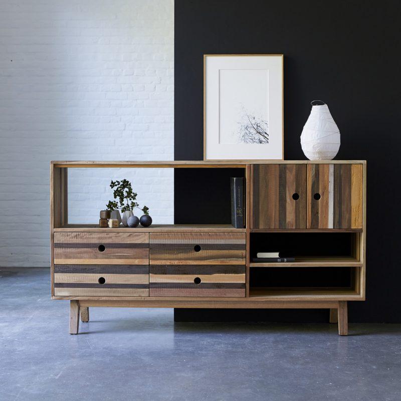 Buffet en bois recyclé Karpenter