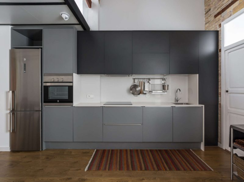 Rénovation d'un appartement esprit loft