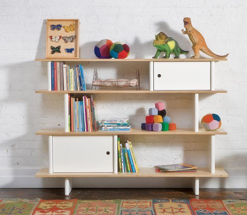Bibliothèque design pour enfant