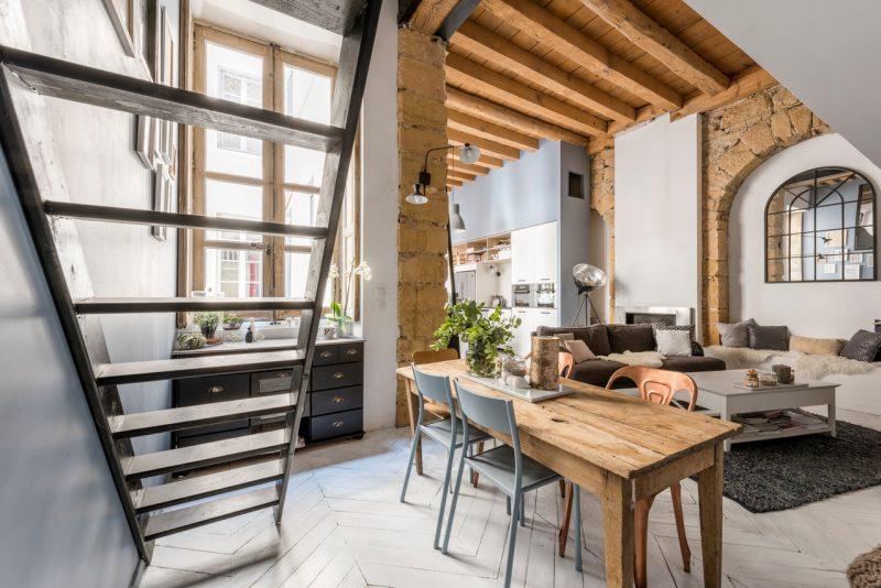 Loft dans une ancien canut à vendre à Lyon
