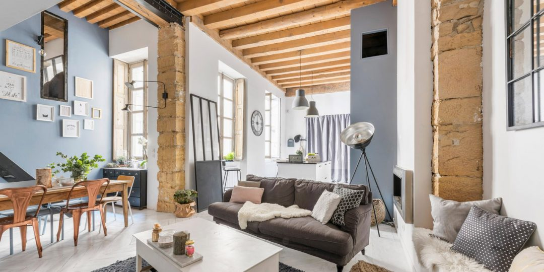 Loft lyon loft atelier plateau surface vendre ou for Loft atelier a louer