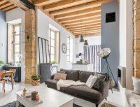 Atelier de canut transformé en loft