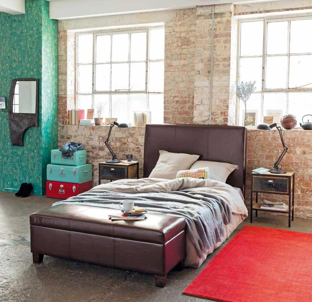 Chambre d co industrielle - Deco chambre loft ...