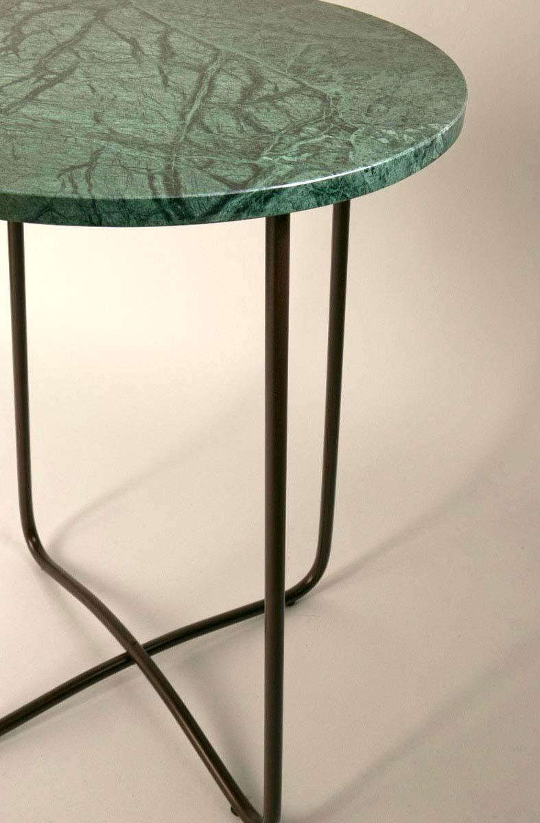 Chevet en marbre vert