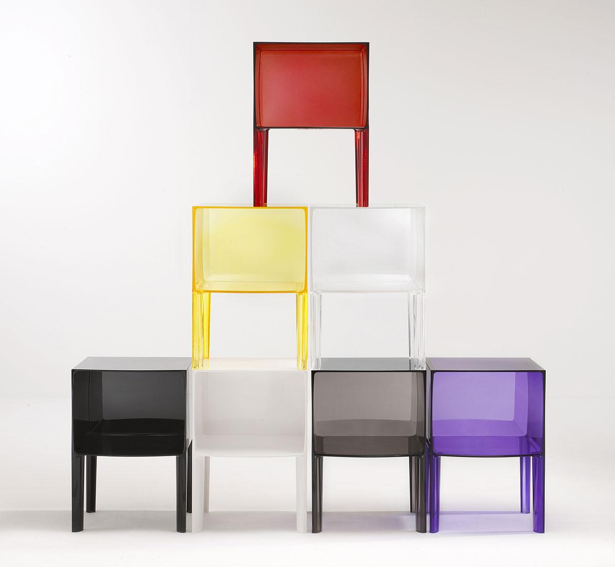 chevet small ghost buster par kartell. Black Bedroom Furniture Sets. Home Design Ideas