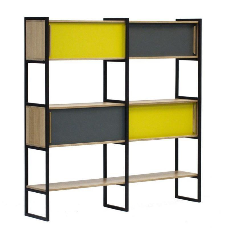 etagere biblioth que gaspard. Black Bedroom Furniture Sets. Home Design Ideas