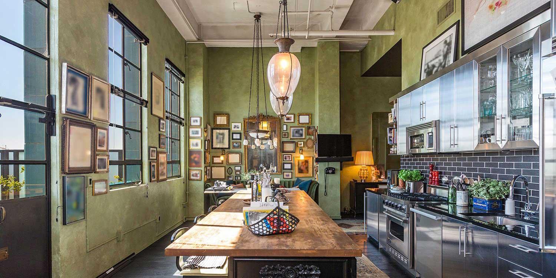 Chambre Loft Vintage Lyon ~ intérieur & meubles
