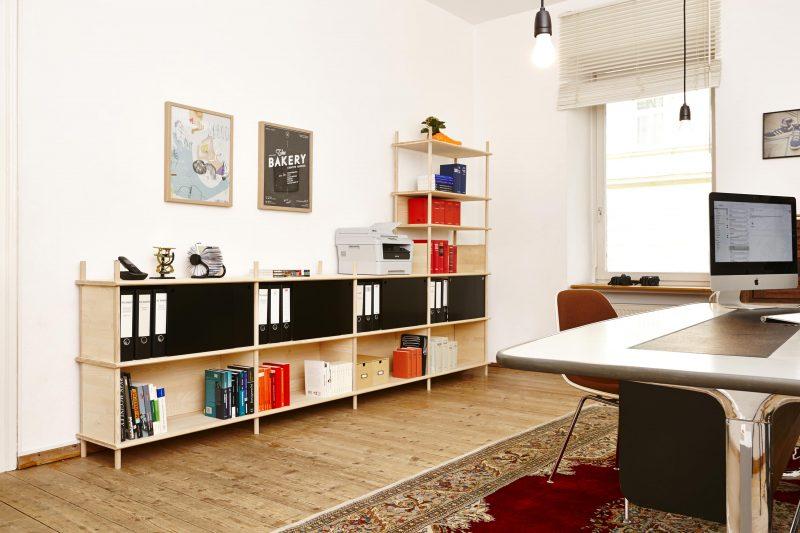 Bibliothéque pour bureaux