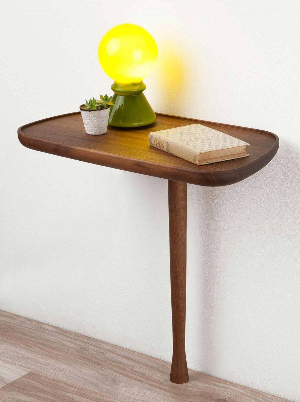 Petite Table De Nuit Bois 44 idées déco de table de nuit