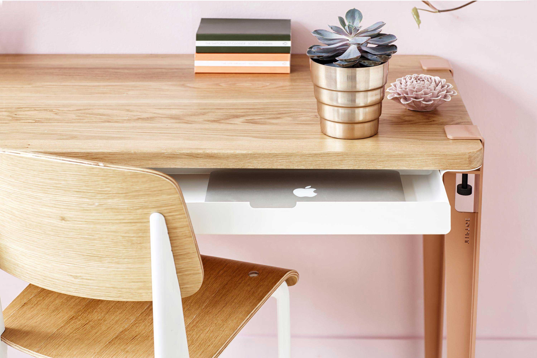 Bureau avec tiroirs for Petit bureau avec tiroir