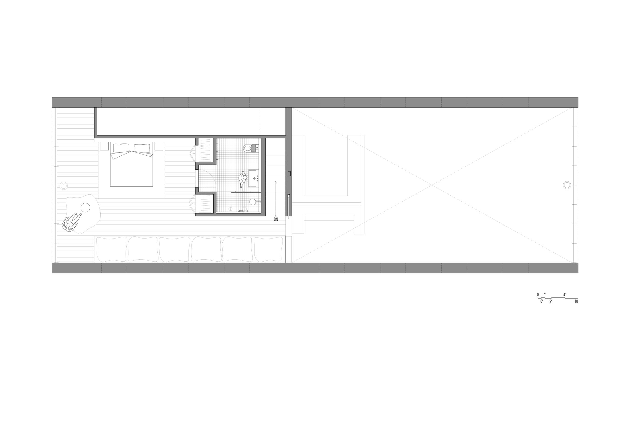 plan de la maison esprit loft. Black Bedroom Furniture Sets. Home Design Ideas