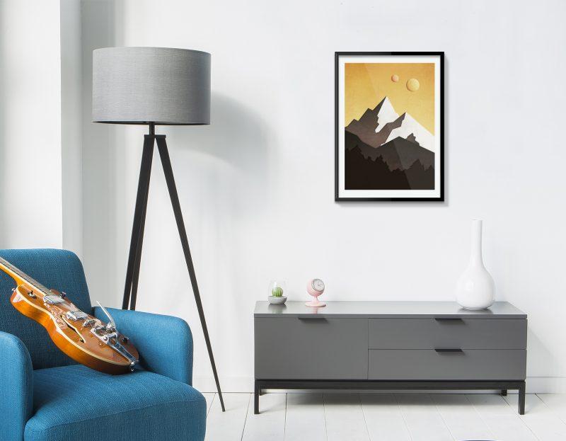 Affiches déco minimaliste