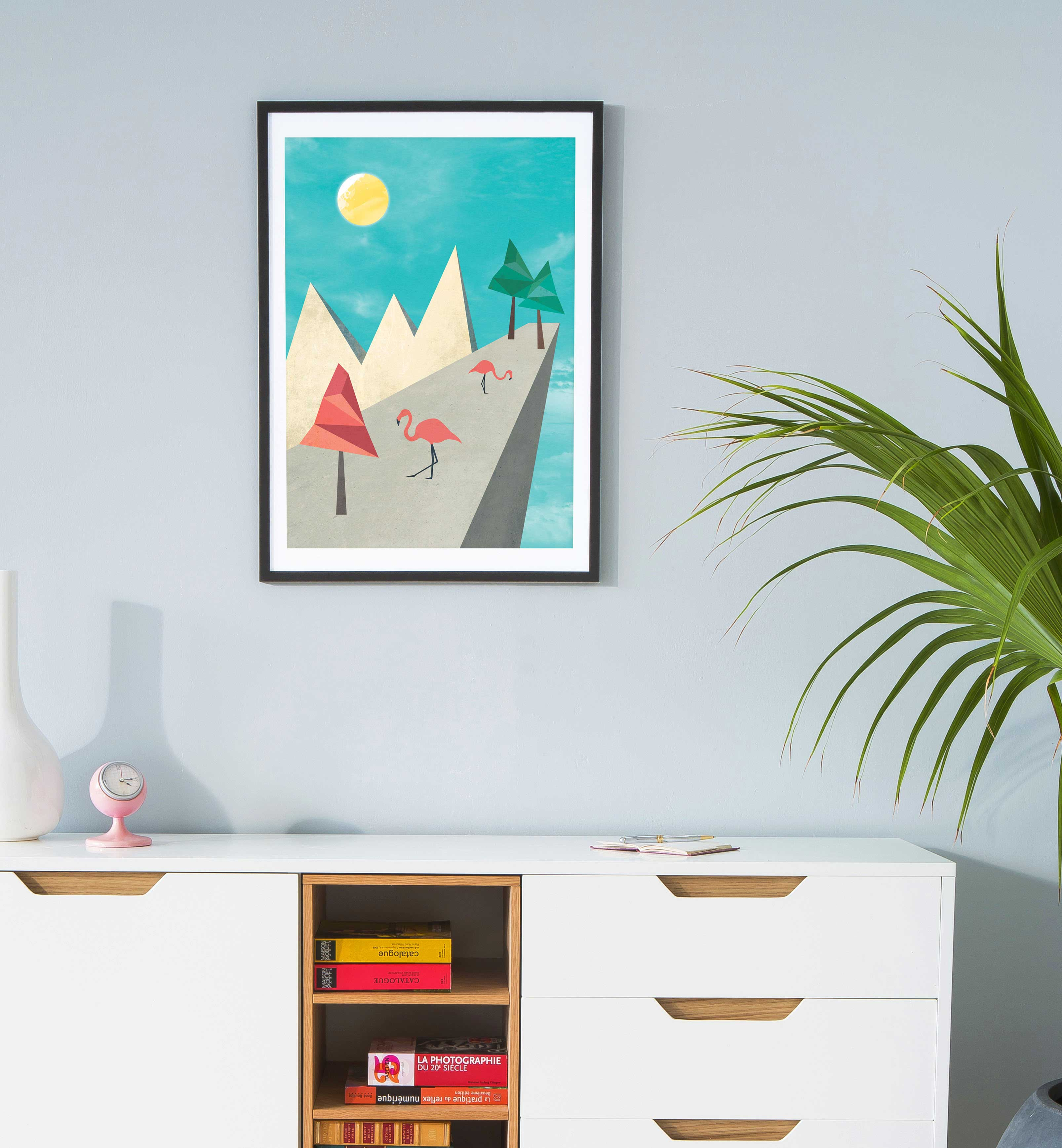 affiches d co esprit scandinave. Black Bedroom Furniture Sets. Home Design Ideas