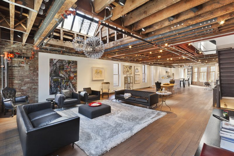 Loft en colocation new york pour 1 par mois for Interieur loft new york