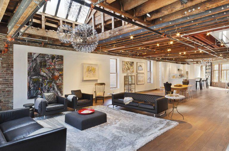 Loft en colocation à new york pour 1 par mois