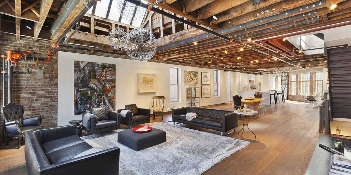 Loft en colocation new york pour 1 par mois for Photo de loft renover