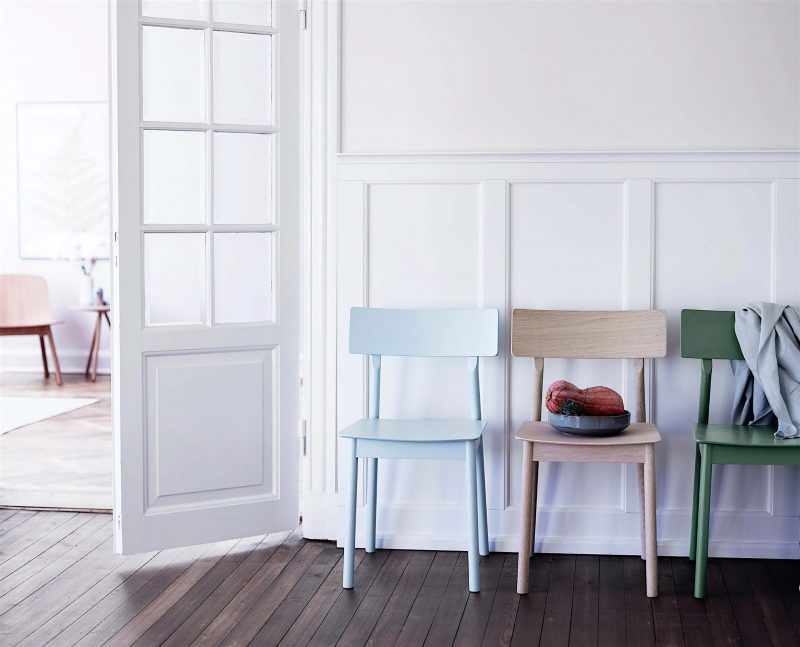Chaise sandinave moderne Woud