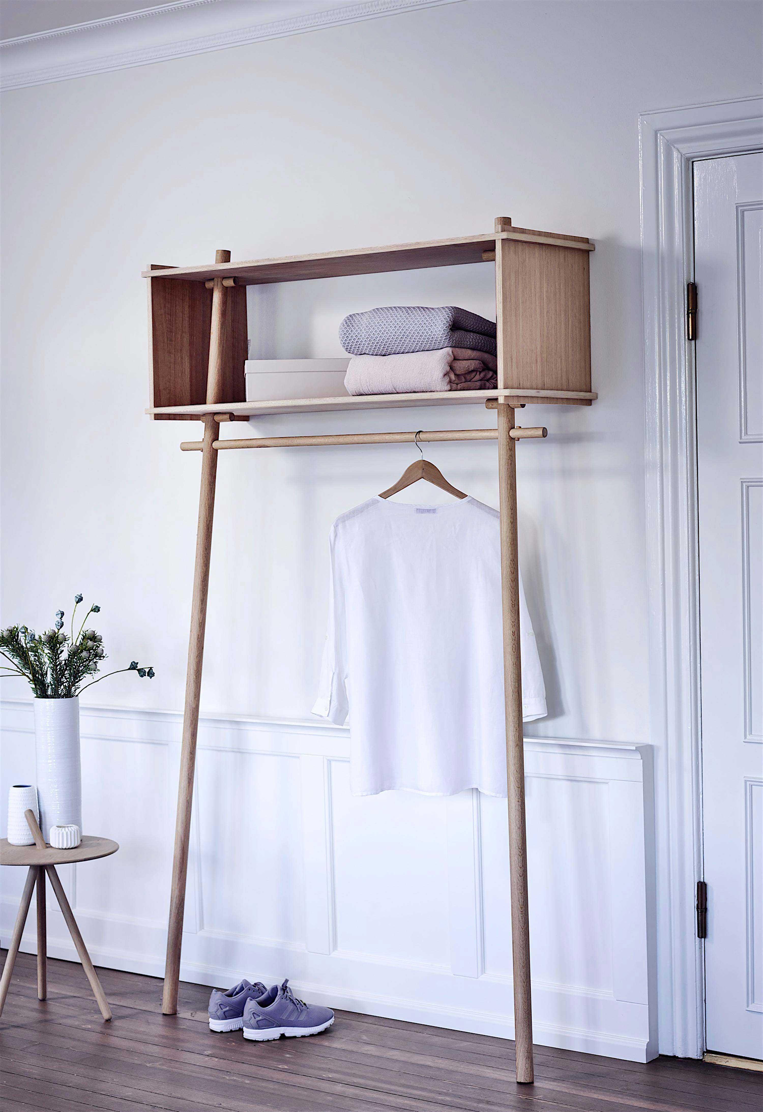 meuble dressing moderne woud. Black Bedroom Furniture Sets. Home Design Ideas
