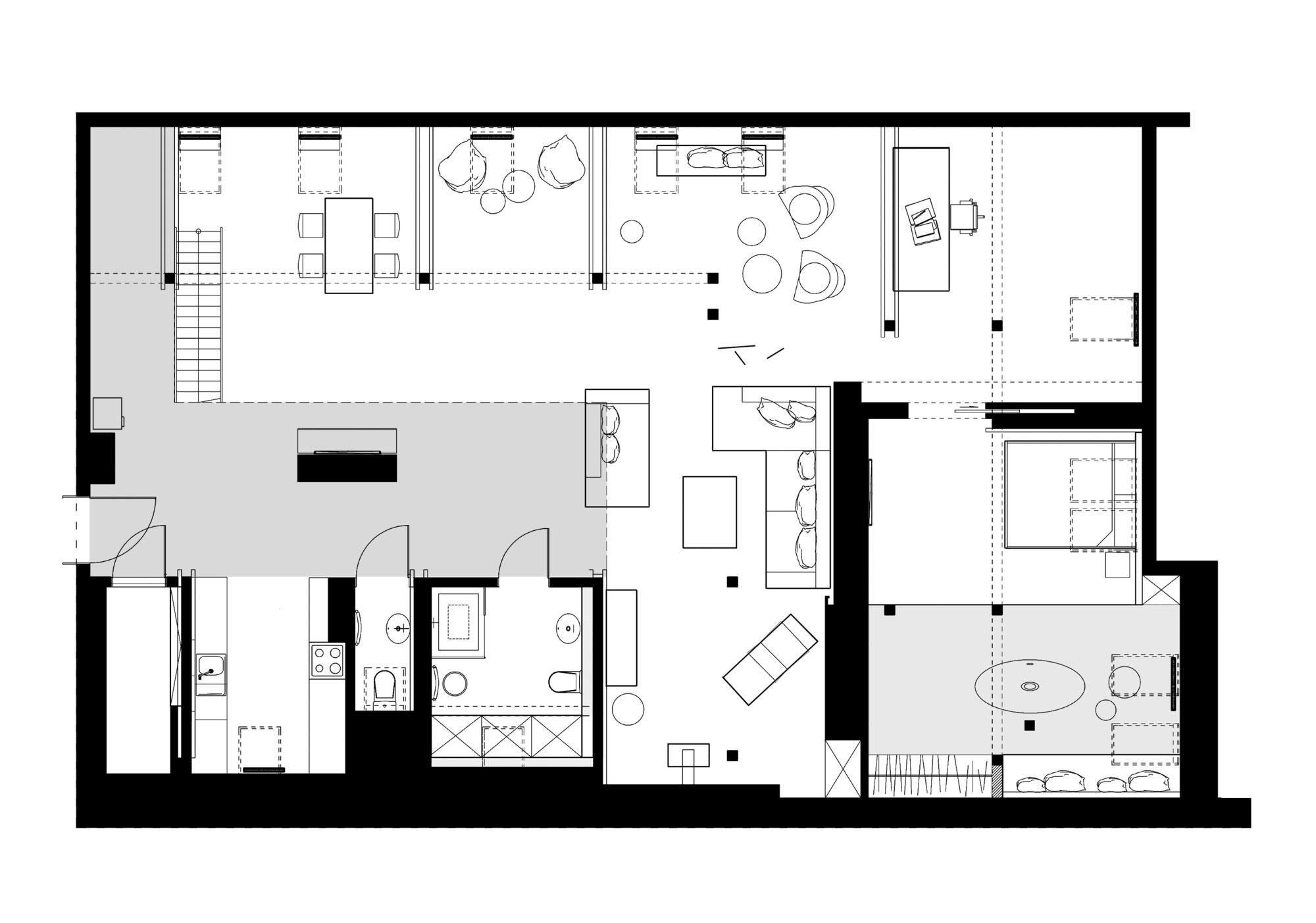 Plan d 39 am nagement d 39 un grenier en loft - Plan amenagement combles ...