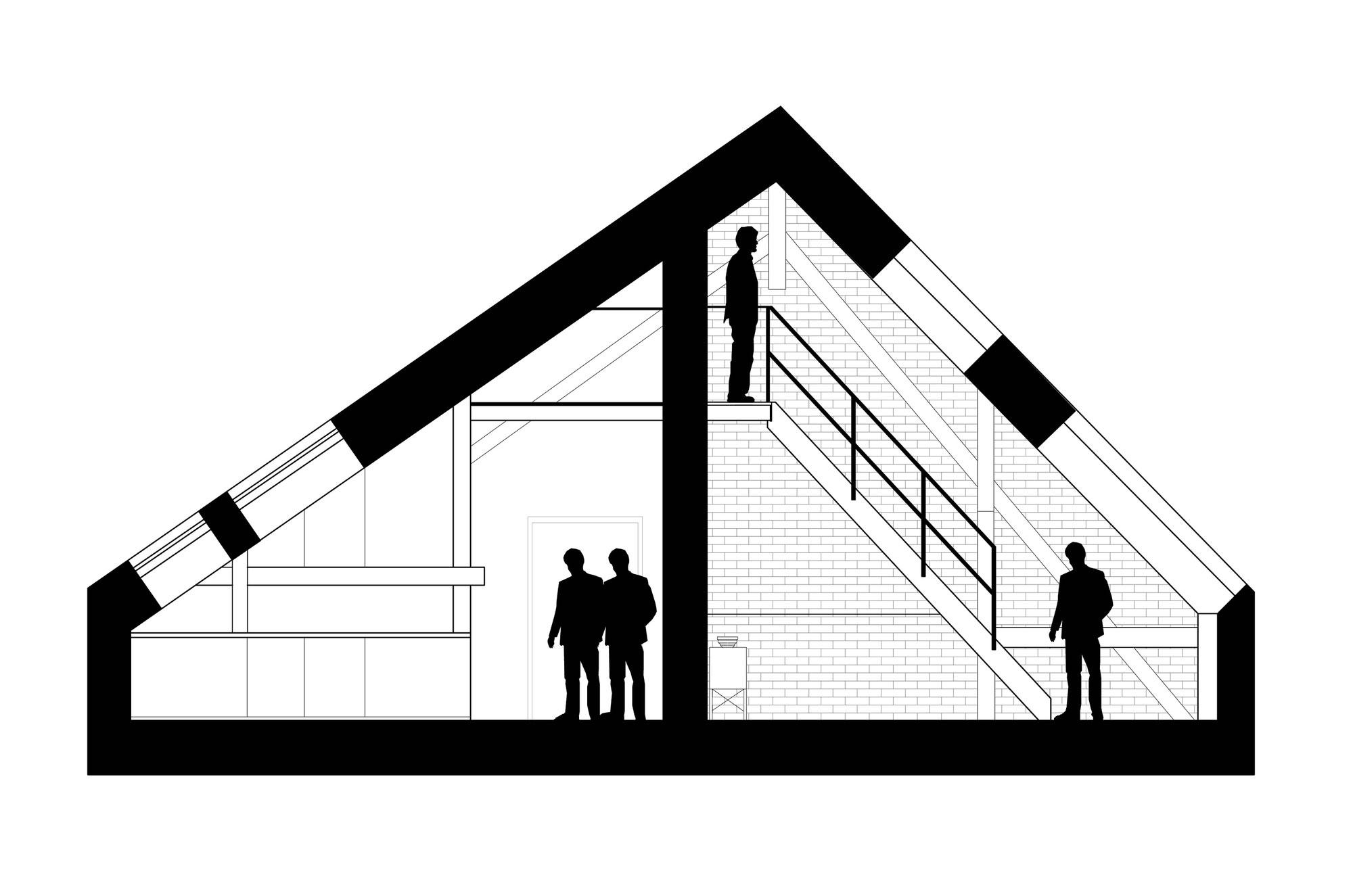 plan d 39 am nagement d 39 un grenier en loft. Black Bedroom Furniture Sets. Home Design Ideas