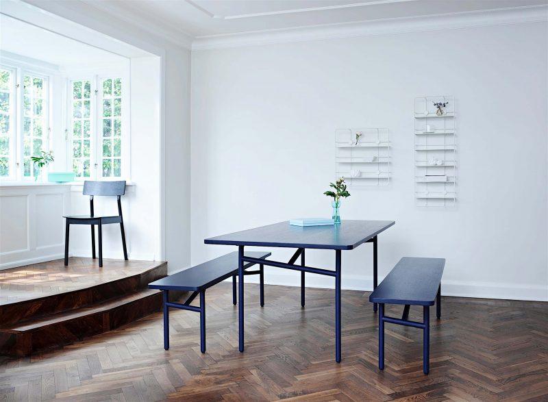 Table avec banc Woud