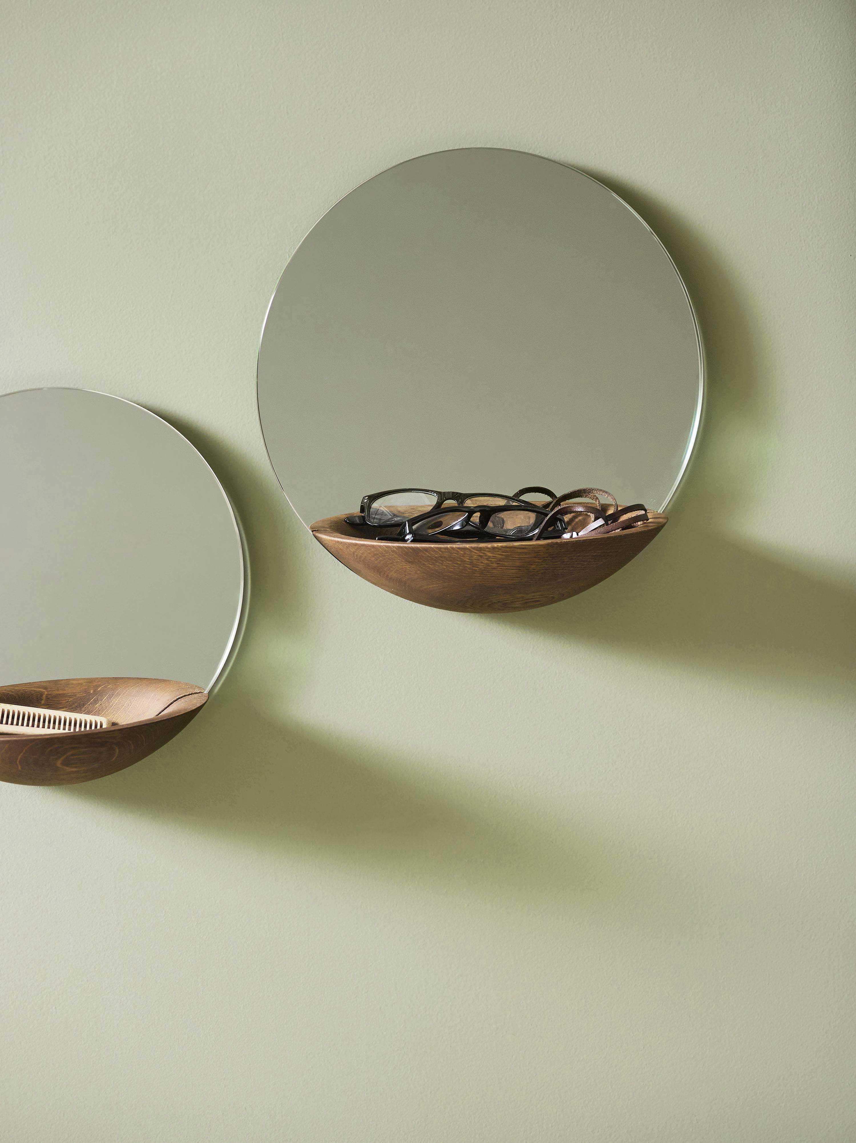 Miroir avec rangement woud - Miroir psyche avec rangement ...