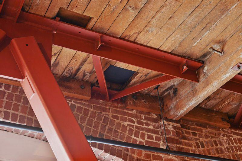 Plafond en plancher
