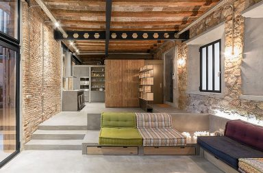 Loft industriel à Barcelone par FFWD