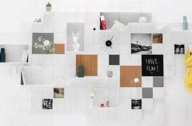 Systéme mural modulaire décoratif add+