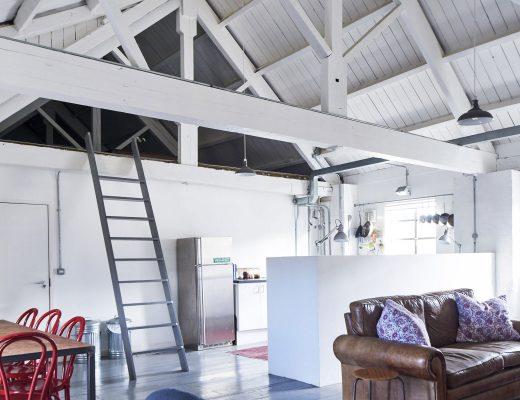 Ancienne tannerie transformée en loft