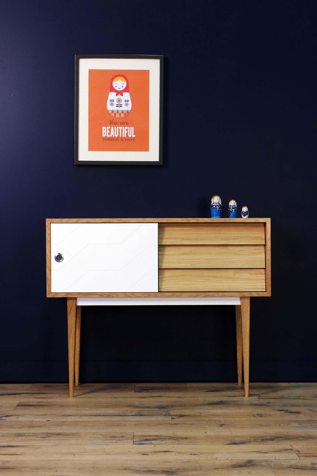 console scandinave personnalisable. Black Bedroom Furniture Sets. Home Design Ideas
