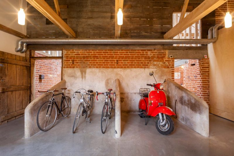Garage à vélos du loft