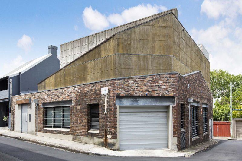 Entrepot en brique transforme en loft a sydney