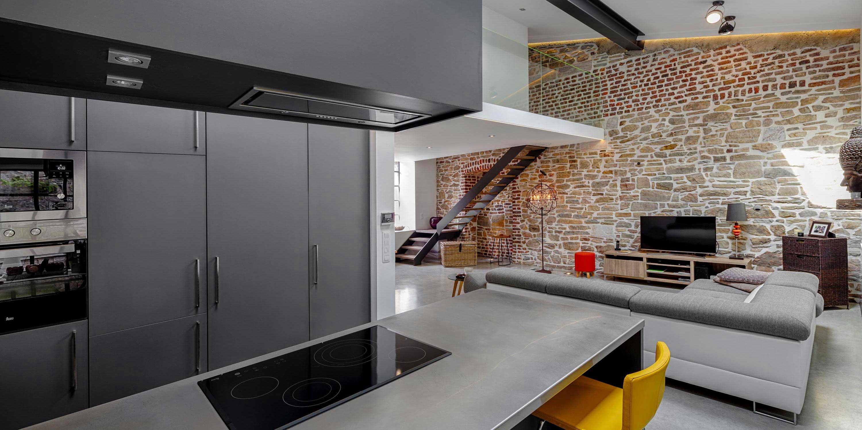 cuisine usine free verriere partielle depuis la cuisine votre intrieur est quip duune verrire. Black Bedroom Furniture Sets. Home Design Ideas