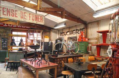 [Vidéo] 5 Francs, mobilier industriel et vintage