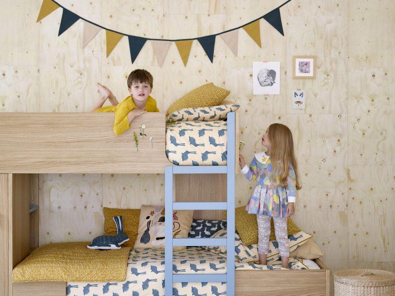 Lit superposé design pour enfants