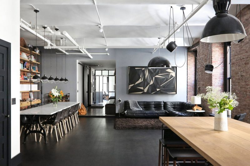 Loft new york par union studio for Interieur loft new york