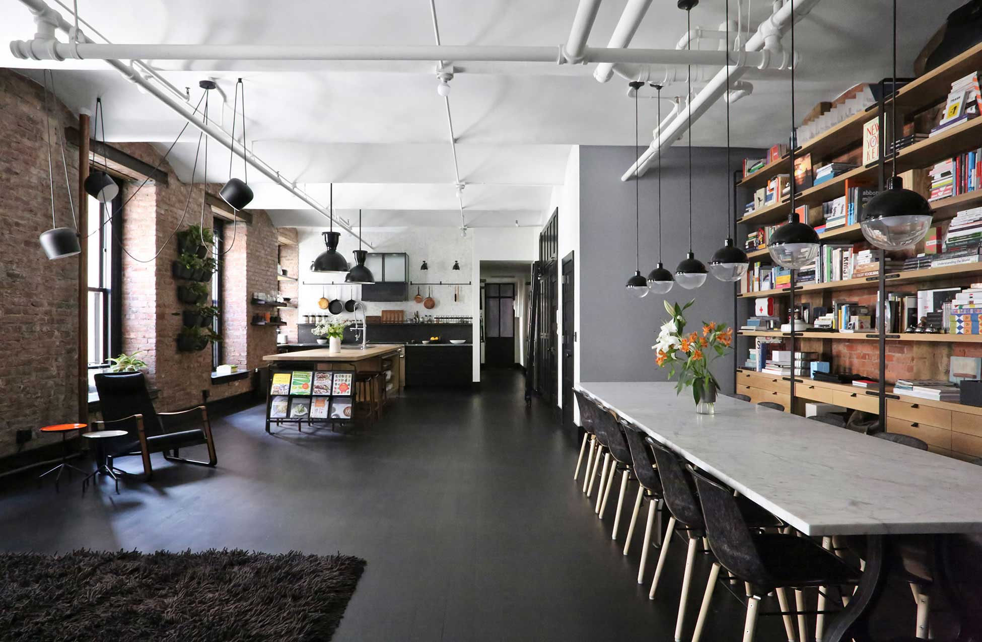 Loft industriel new york for Interieur loft new york