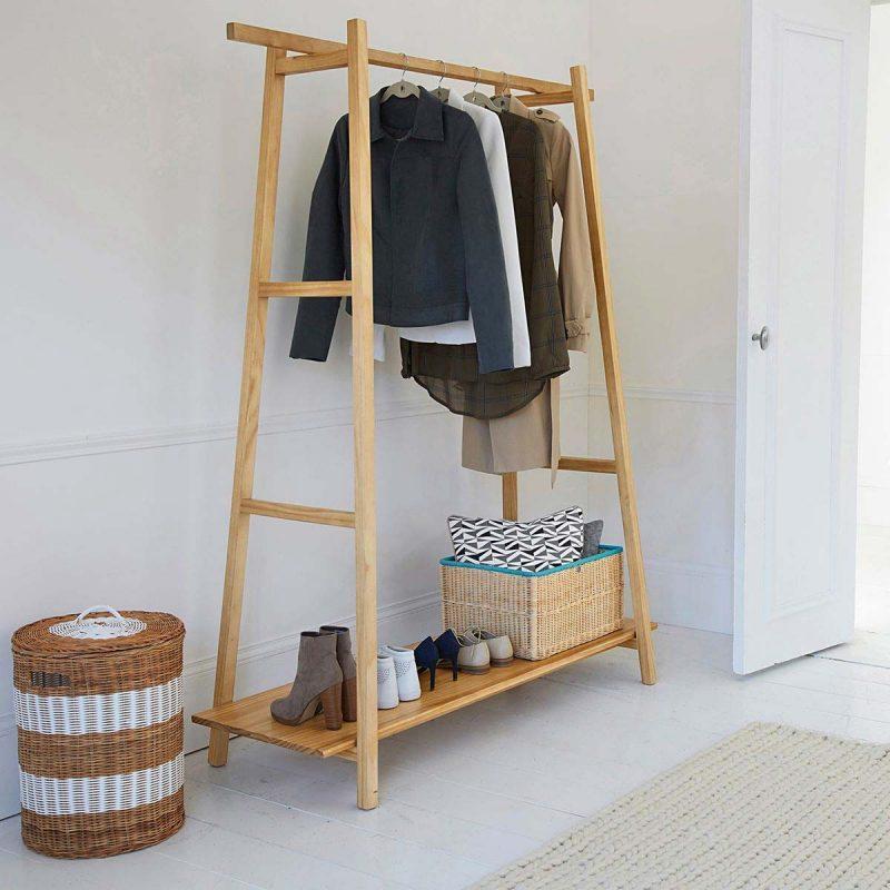 15 id es d co de portant v tements. Black Bedroom Furniture Sets. Home Design Ideas