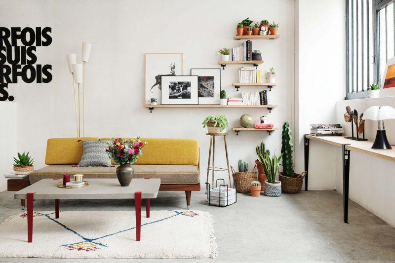 Salon avec mobilier TipToe
