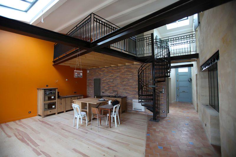 Loft architecte bordeaux