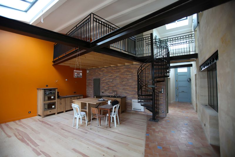 Loft architecte bordeaux
