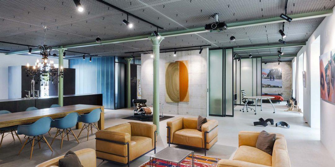 Loft à Zurich par Arcs Architekten