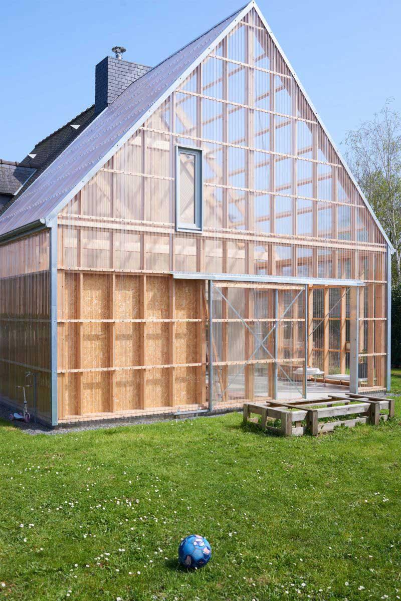 Maison moderne plerin