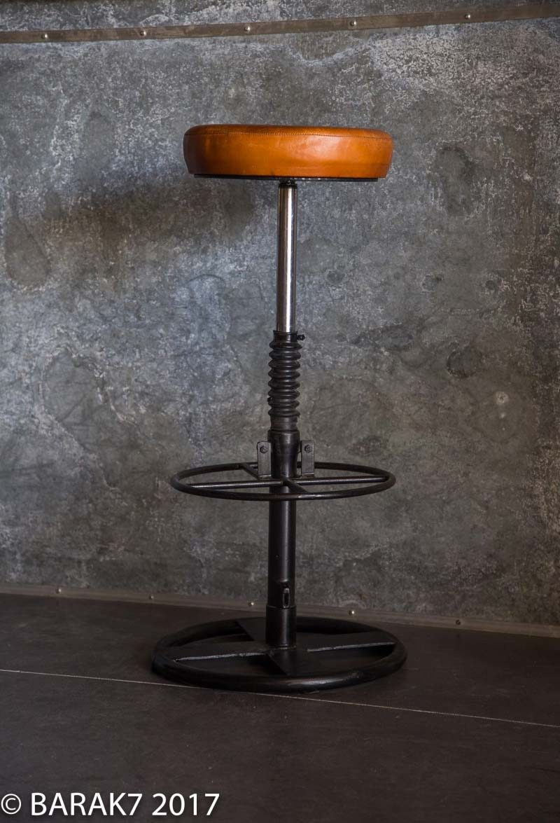 Tabouret de bar avec piston