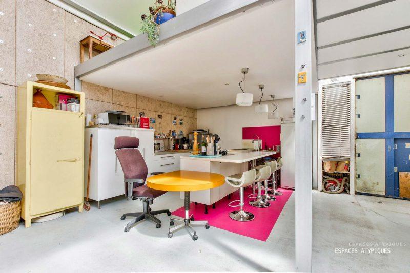 Loft de puriste dans l'esprit new-yorkais à Argenteuil