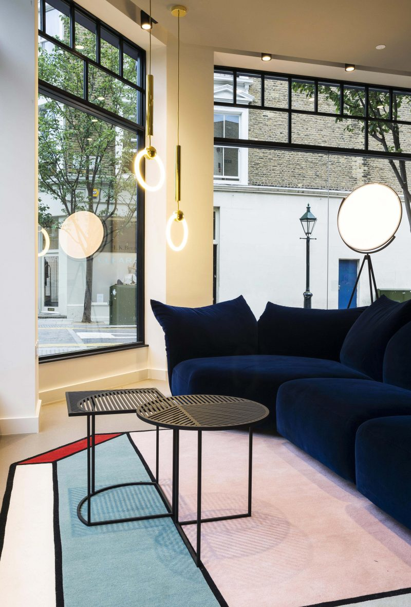 Boutique de mobilier à Londres