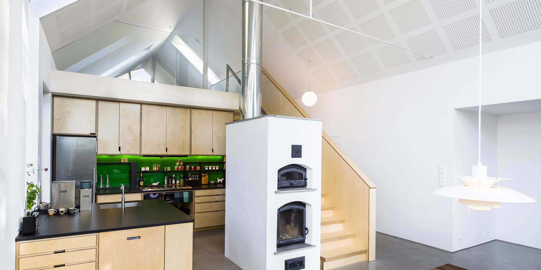 Extension esprit loft en Norvège