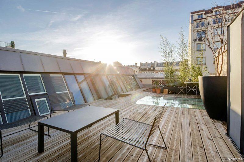 Loft avec terrasse de toit à Paris
