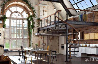 Notre loft blog d co loft - Petit appartement studio allen killcoyne ...